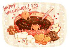 Will you be my Valentine? ٩(//̀Д/́/)۶  https://www.facebook.com/tabenekoOnline Store- International customers>http://meo-watt.wix.com/tabeneko- Malaysia customers>http://meo-watt.wix.com/tabenekomy