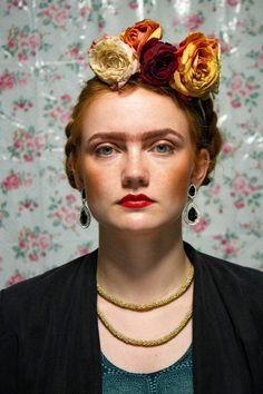 Ginger Frida Khalo  Photo by Lene K. Bergersen