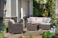 I just purchased the Moorea Garden Lounge Set in Taupe from Out & Out Original Outdoor Sectional Sofa, Furniture Sets, Furniture Decor, Furniture, Patio Dining Furniture, Lounge Furniture, Garden Furniture Sets, Outdoor Lounge Set, Outdoor Furniture Sets