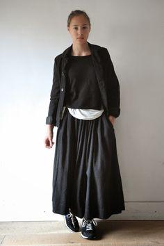 """:: Jupe """"femme"""", lainage gris # Le Vestiaire de Jeanne"""