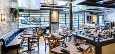 A big, ambitious piece of Meatpacking dinner-date real estate, with the best mac and cheese. Holden & Astor http://www.holdenandastor.com/menu