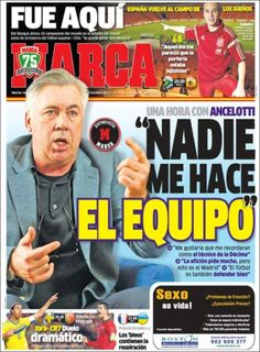 Los Titulares y Portadas de Noticias Destacadas Españolas del 19 de Noviembre de 2013 del Diario Marca ¿Que le pareció esta Portada de este Diario Español?