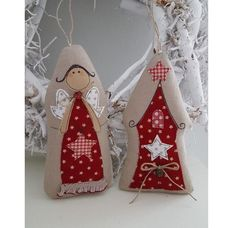 """Christmas toys from """"feinerlei"""" - November 2016 - Tilda doll. Everything about Tilda, patterns, master classes. Christmas Sewing, Christmas Toys, Christmas Wishes, Christmas Projects, Handmade Ornaments, Handmade Christmas, Christmas Tree Ornaments, Felt Christmas Decorations, Navidad Diy"""