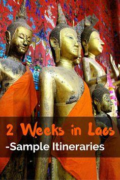 2 Weeks in Laos: Sample Itineraries - FreeYourMindTravel