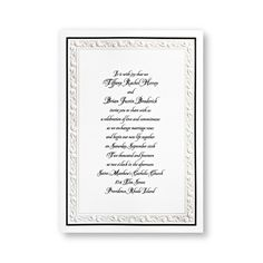 Royal Duchess Wedding Invitations by TheAmericanWedding.com
