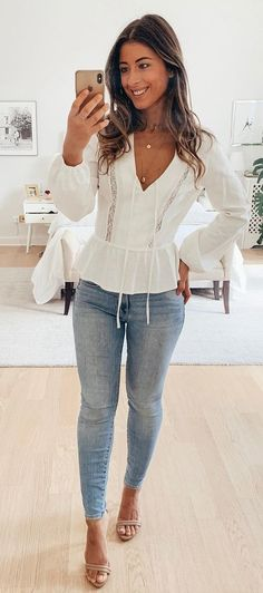 Perfect Summer Outfits To Try Now - Fashion Moda 2019 Mode Outfits, Casual Outfits, Fashion Outfits, Womens Fashion, Fashion Ideas, Fashion Trends, Cute Summer Outfits, Spring Outfits, Summer Dresses