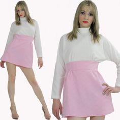 Upcycled Dress Mini Retro Color Block Glam by SHABBYBABEVINTAGE, $65.00