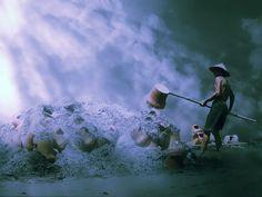 Burning Pottery by 3joko