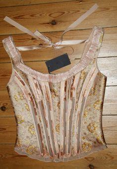Prada Resort 2004 corset (eBay France)