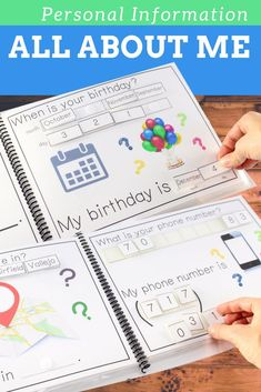 All About Me Adapted Book. Teach personal information to students with special needs. Perfect for students with Autism or in Special Education. Get the perfect kids toys for your youngsters Life Skills Classroom, Autism Classroom, Special Education Classroom, Kids Education, Education City, Education Degree, Education Quotes, Education Galaxy, Texas Education