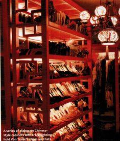 Dita Von Teese shoe collection