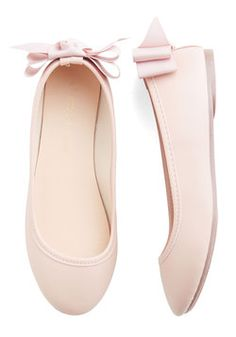 Tasteful Touch Flat in Blush. Every girl needs a trusty pair of neutral ballet flats - and these blush-pink ones take versatility to a whole new level!