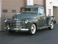 1953 Chevrolet 3100 Pickup #classictrucks