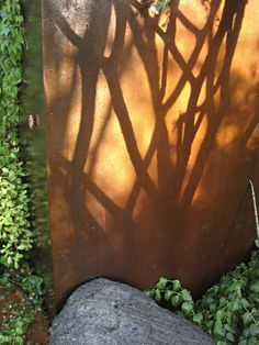 What perfect planning! Artful use of shadow and color in this landscape by mrGSpace Landscape in Phoenix, AZ. Love the rusty orange of the wall.