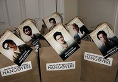 Hangover kits for your groom to be on his bachelor party