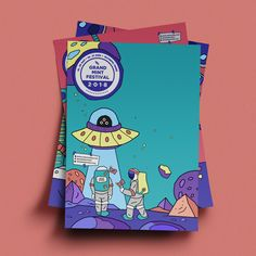 GMF2018 Official Artwork & Design - 그래픽 디자인, 디지털 아트 Graphic Design Trends, Graphic Design Posters, Graphic Design Inspiration, Game Card Design, Art Inspiration Drawing, Aesthetic Drawing, Posca, Doodle Drawings, Illustrations And Posters
