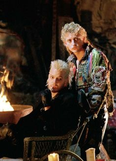 The Lost Boys Kiefer Sutherland. Lost Boys Movie, The Lost Boys 1987, I Movie, Werewolf Vs Vampire, Vampire Film, Scary Movies, Great Movies, Awesome Movies, 80s Movies