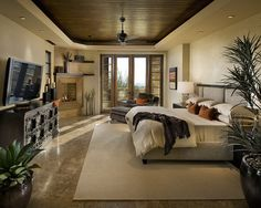 love the lay out and the colors...but could do without the big plant on the right