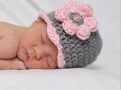 Baby Girl  Crochet Baby Hat Newborn Baby by crochethatsbyjoyce, $14.00
