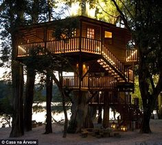 Home: The Lake Tree House also boasts two bedrooms and a children's retreat