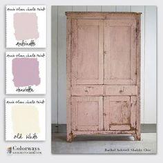 Annie Sloan Chalk Paint Swatch Book Part 2 - Shades | Colorways | Bloglovin'