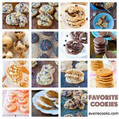 Favorite Cookie Recipes @Averie Sunshine {Averie Cooks}
