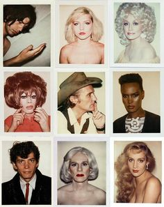 Photography: Fantastic retro blog collates Andy Warhol's extraordinary polaroids | AnOther | Reader