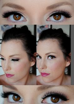 What a great idea! Tape trick-for perfect winged liner. – What a great idea! Tape trick-for perfect winged liner. Perfect Winged Eyeliner, Winged Eyeliner Tutorial, Simple Eyeliner, How To Apply Eyeliner, Winged Liner, Eyeliner Wing, Eye Tutorial, Make Up Geek, Eyeliner Hacks