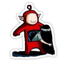 Teletubbies - The Ring Sticker £1.40