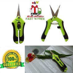 Micro Snip Cut Flower Rose Plant Pruning Comfort Catch Grip Nip Garden Tool Lawn #BackyardGardenProsTM