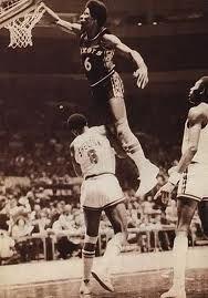 dr j 70s dunk - basketball