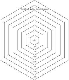 Lucrative image pertaining to free printable hexagon template