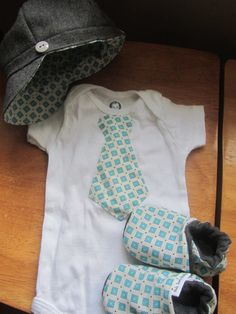 Newsboy Hat Gift Set / Baby Boy Shower Gift / by BulaJeansBoutique, $50.00