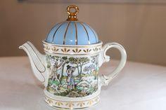 Vintage Sadler Teapot  Sadler Sporting Scenes of by TeaAttheBrits, $50.00
