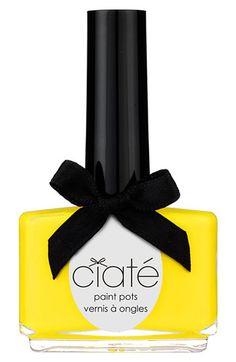 Bright! Ciaté Big Yellow Taxi Nail Polish