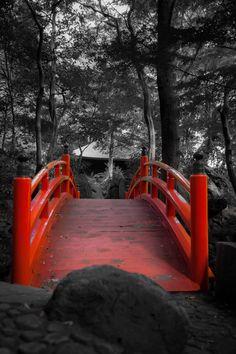 Use bridge downtown huntsville, black and white photo behind!