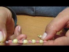 Como colocar un broche en hilo de naylon, básico - YouTube
