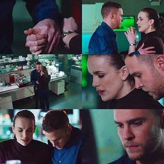 Fitzsimmons, preparing to fight evil androids, like you do