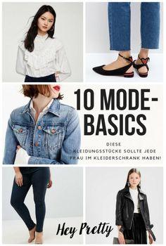Diese 10 Mode-Basics sollte jede Frau im Kleiderschrank haben: Hey Pretty Fashion Flash