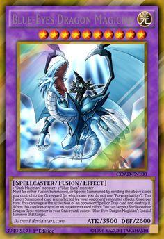 Blue-Eyes Dragon Magician