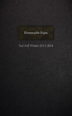 REVISTA - Ermenegildo Zegna_suit catalogue