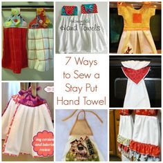 7 Ways to Sew a Stay Put Hand Towel