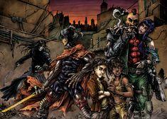 Cryweni tortenetek dupla borito / wraparound cover by BloodlustComics on DeviantArt Comic Book Covers, Comic Books, Cyberpunk Clothes, Fantasy Comics, Wrap Around, Deviantart, Cartoons, Comics, Comic Book