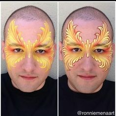 Ronnie Mena face painting