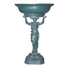 Fontaine Cariatide - H.107 cm Diametre 65 cm - Socle 36 x 36 cm H.8 cm - Réf. 0400 Excideuil - Dordogne