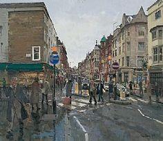 Mansion View 1929-2016 Blayney Robert T - Mid 20th Century Watercolour