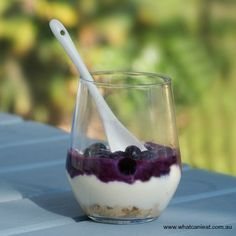 Blueberry Ricotta Cheesecake Cups