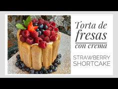 Pavlova, Strawberry Shortcake, Cheesecakes, Formulas, Desserts, Friends, Videos, Food, Youtube