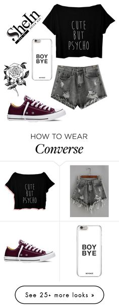 """""""#2"""" by biaandrade1994 on Polyvore featuring Converse and Forever 21"""