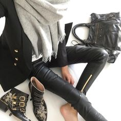 baf666f982a1 16 Best Studded boots images | Fashion outfits, Fashion sets, Ladies ...